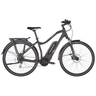 Vélo de Voyage Électrique HAIBIKE SDURO TREKKING 1.0 LOW-STEP Femme Gris 2020